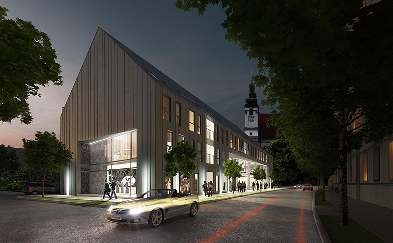 5b2cc3baa41b Polyfunkčný dom Leonardo pozitívne dotvorí historické centrum Trnavy ...