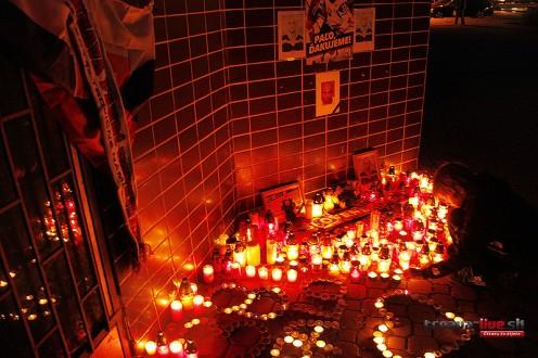 Pamiatku tragicky zosnulého pavla demitru si pripomínajú desiatky