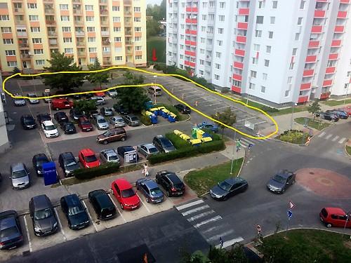 hliny-parkovisko