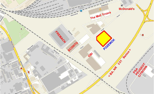 V obchodnej z ne pri obchvate pl nuj postavi centrum pre stavbu dom a z hradu trnava - Lumen centrum ...