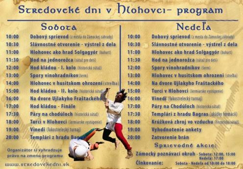 program-stredoveke-dni