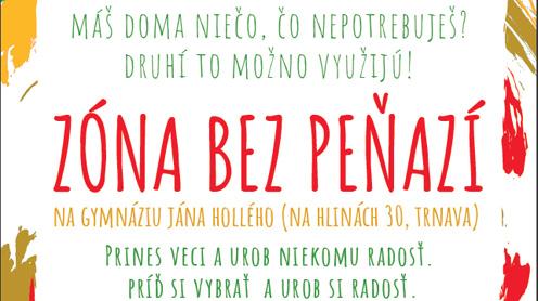 ba1a0bcf0 Zo Zóny bez peňazí si môžete bez jediného centa odniesť oblečenie, knihy,  hračky či elektroniku | trnava-live.sk